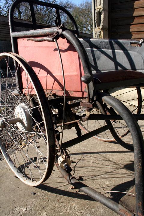 1929 Poirier 3 Wheeler 3 Roues Invalid Carriage Www