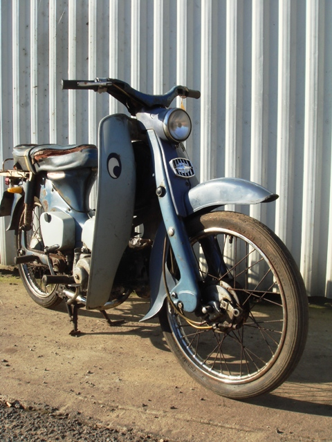 Page 81. 1963 Honda 50 Step-through – SOLD £199 | 1st ...